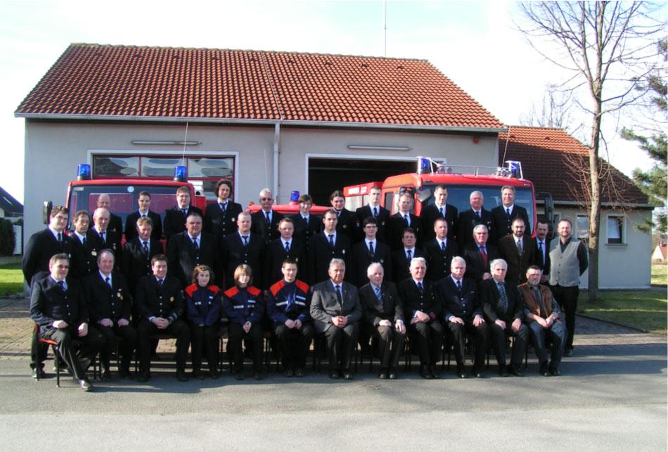 Feuerwehr Mitgliederfoto